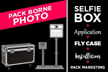 offre pack borne photo selfie box avec description