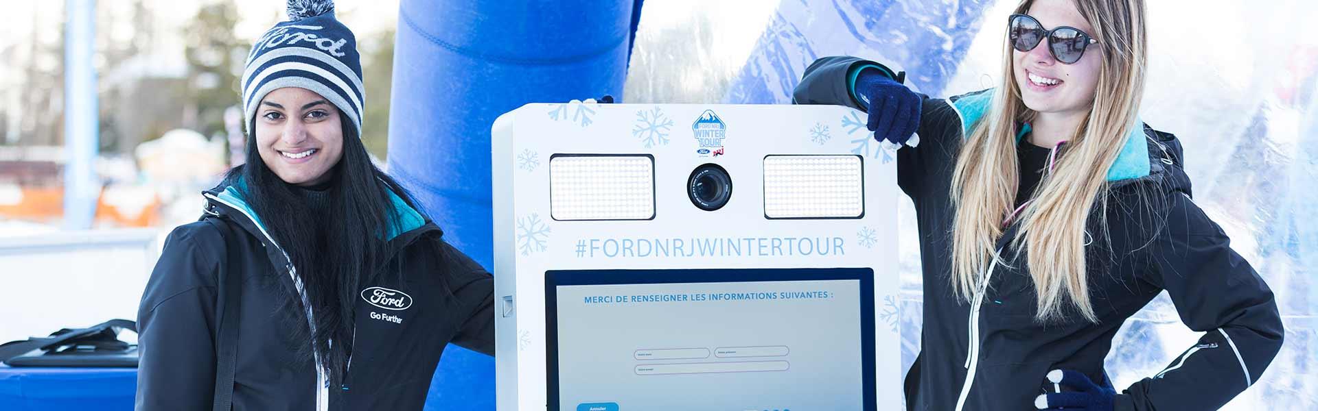 bfast-capture opération Ford NRJ Winter Tour