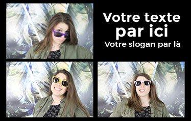 selfie-box multipose fois trois
