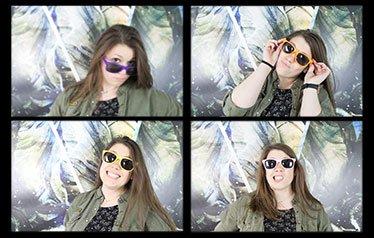 selfie-box multipose fois quatre